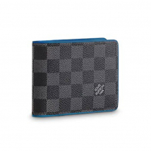 Ví Louis Vuitton Multiple Wallet N64434 Màu Xám Đen