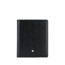 Ví Montblanc Calskin Black Wallet Màu Đen