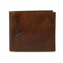 Ví Nam Guess Men's Leather Slim Bifold – 31GU130015 Màu Nâu
