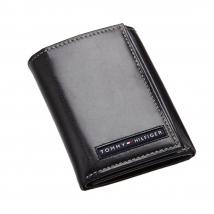 Ví Nam Tommy Hilfiger Mens Cambridge Trifold Wallet Black 5676/01 Màu Đen