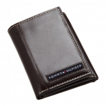 Ví Nam Tommy Hilfiger Mens Cambridge Trifold Wallet Brown 5676/02 Màu Nâu