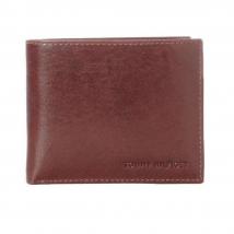 Ví Nam Tommy Hilfiger Men'sLeather Passcase Wallet With Removable Card – 31TL22X002 Màu Nâu